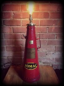 Converted 1960's water fire extinguisher