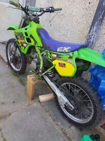 Kawasaki Kx 125 not cr yz rm