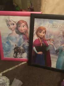 Frozen framed photos