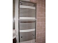Electric Bathroom Heated Towel Rail - chrome