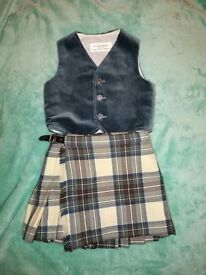 Ages 3 - 6 Kilt and Jacket Highland dance outfit