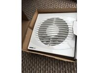Extractor fan for bathrooms and toilets