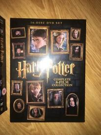 Harry Potter box set open once £35 in tesco