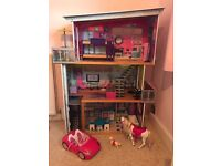 Costco Barbie dolls house with accecories £50