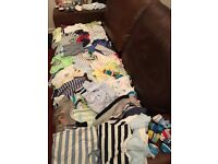 Baby boy clothing bundle 0-6 months