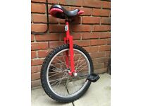 2 X unicycles at £25 or £15 each unicycle-join the circus!