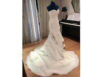 New Designer Wedding Dress Size 10