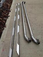 2 Sets of box rails for truck