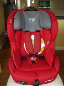 NEW KINDERKRAFT SAFETY FIX CAR SEAT - WITH ISOFIX