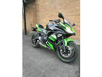 GREATE BARGAIN!!! KAWASAKI NINJA EX 650 ABS KHFA KRT EDITION