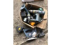 Power tools / chargers/ batteries spares repair