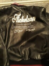 NICKELSON LEATHER JACKET