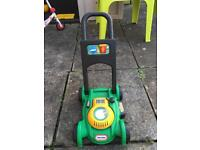 Little Tikes Lawn Mower and JCB ride on