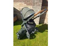 Oyster 2 pushchair and Cybex Car seat