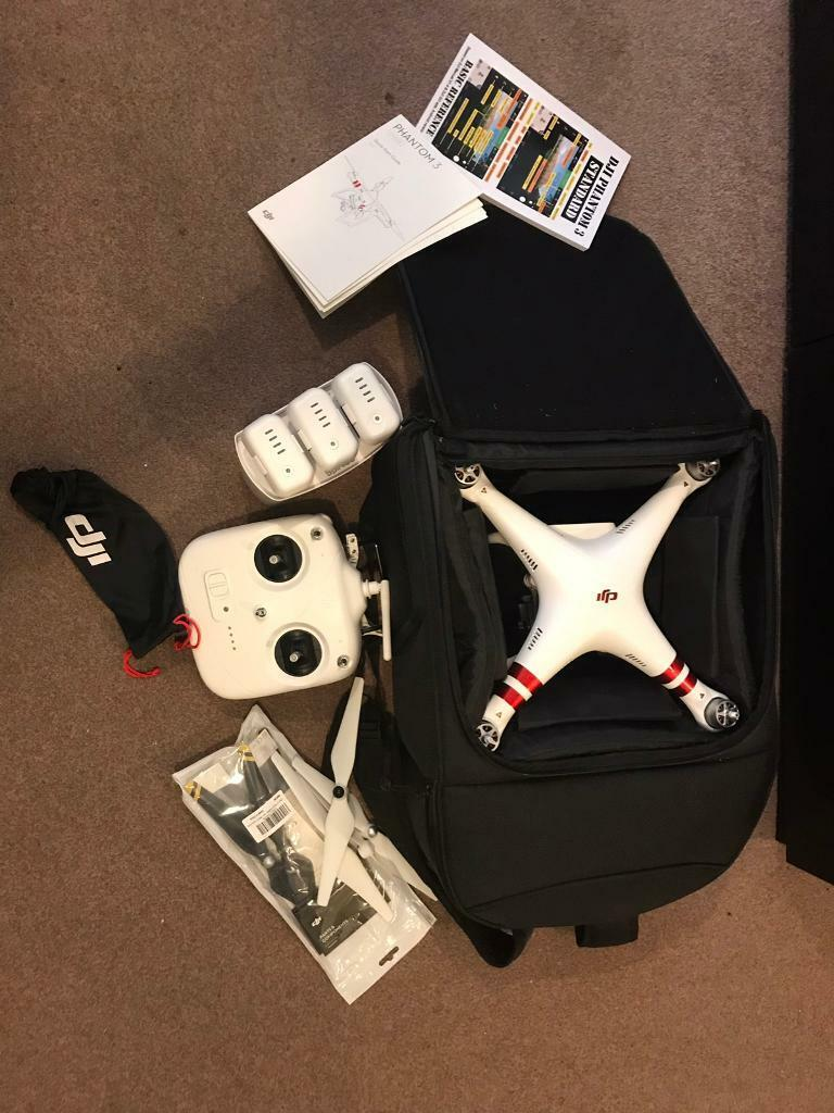 DJI Phantom 3 w/ softcase and carbon fibre propellers | in Southampton,  Hampshire | Gumtree