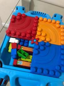 Building blocks and table
