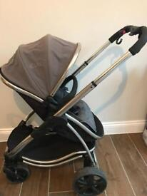 iCandy Strawberry Pushchair Stroller, Carry Cot, Car Seat, Rain Covers, Manual