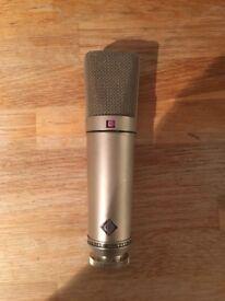 Vintage Neumann u89i microphone