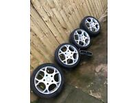 Genuine ford Transit sport alloys and kit