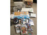 MASSIVE BUNDLE - Nintendo Wii + Loads of Games + Fit Board + Skylanders + Dance Mat + More