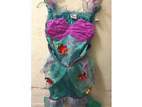 Disney store little mermaid dress up 3-4