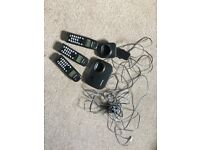 Panasonic DECT Cordless Phone with 3 handsets and bases EXCELLENT CONDITION