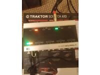TRAKTOR SCRATCH A10 Traktor audio 10 interface