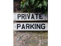 PRIVATE PARKING SPACES TO RENT