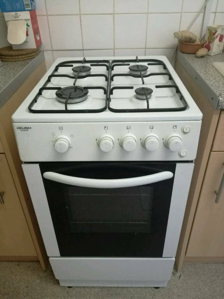 Gas cooker hob oven freestanding vgc