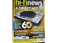 VINTAGE HI-FI NEWS HI-FI WORLD HI-FI CHOICE WHAT HI-FI MAGAZINES FOR SALE
