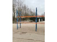Heavy Duty Orange & Blue Shelving Racking for Warehouse / Industrial Use. RRP OVER £1000