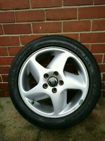 Volvo T5 alloy wheels and tyres v70 s70