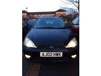 FORD FOCUS (GHIA) TOP SPEC 1.8 TDCI , 104 MILL WITH SERVICE HISTORY AND 12 MONTHS-MOT- TWO OWNERS