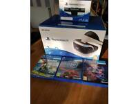 PlayStation vr with games