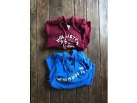 Ladies Hollister hoodies