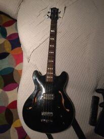 Semi acoustic Bass Guitar
