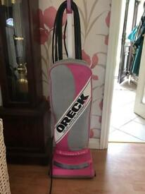 Oreck XL - Rare Pink - X-tended Life signature series Hoover/Vacuum Cleaner