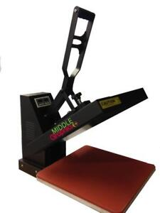 "New!!! 15 X 15"" Heat Press with Teflon Coated heat element for heat transfer vinyl HTV T-shirt press"