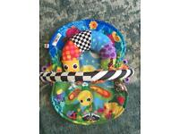 LaMaze Baby Mat with Tummy Time Pillow