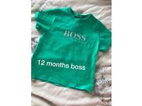Baby boy boss top