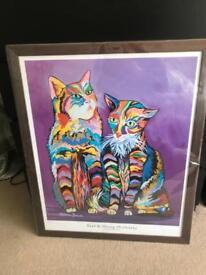 Bert & Morag McCheeky - Steven Brown Limited Edition Print