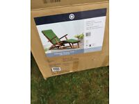 Steamer garden chair