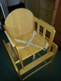 High chair John lewis