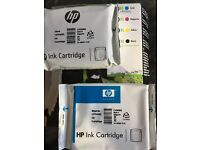 HP cartridges unused for Officejet Pro 8500 printer