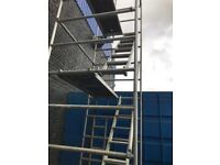 Alto alloy scaffolding tower 6.2m w/h