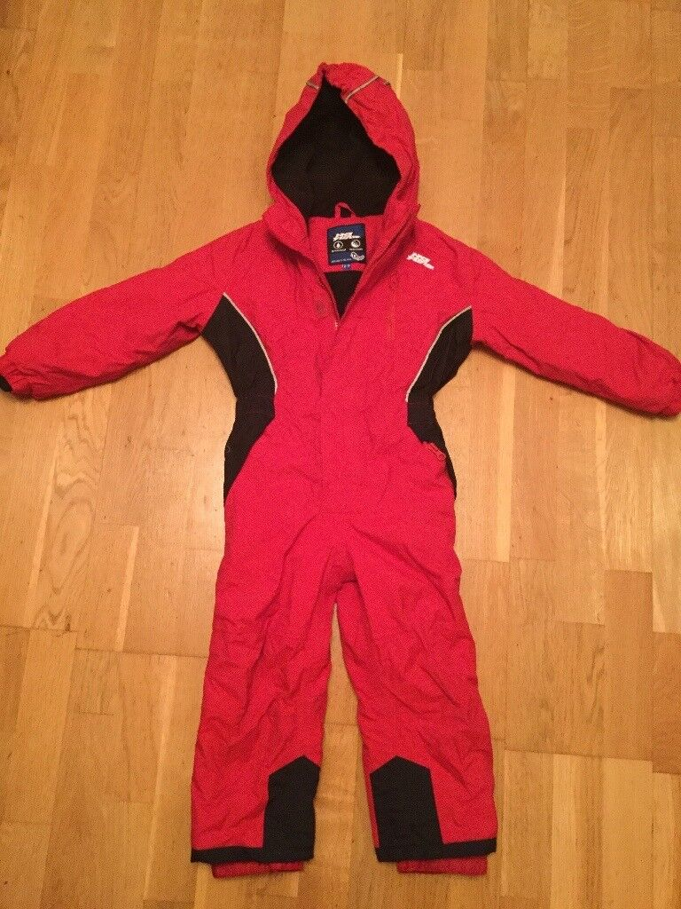2978cebdd Child s all in one red ski suit age 2-3