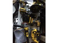 Stanley Fatmax 18v power tools.