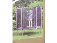 Plum 6ft Trampoline and Enclosure Pink - New Sealed Box - can deliver