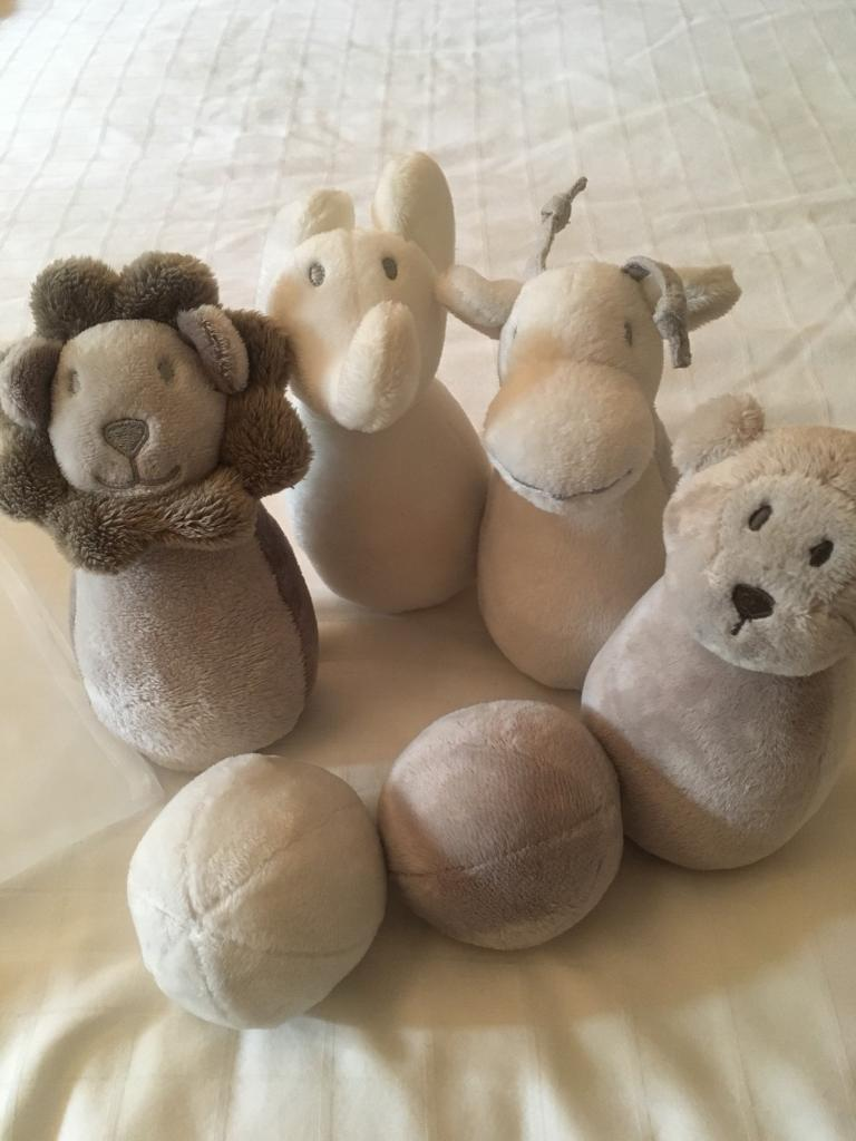 Little White Company Cuddly toy Skittles Set