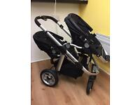 iCandy apple to pear double pram